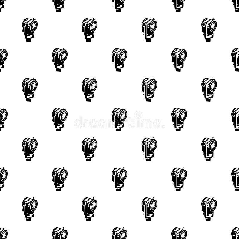 Floodlight ikona w prostym stylu royalty ilustracja