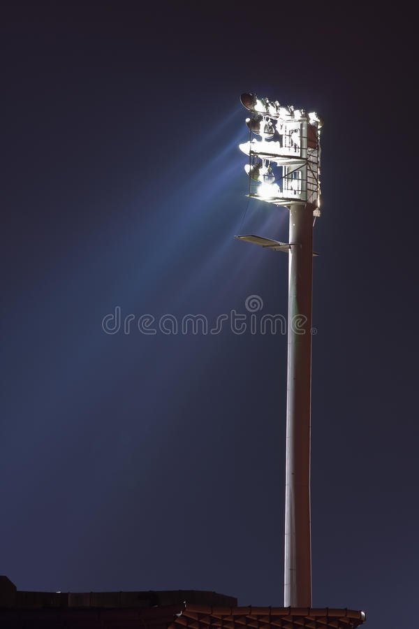 Download Floodlight At Stadium Stock Photography - Image: 18296362