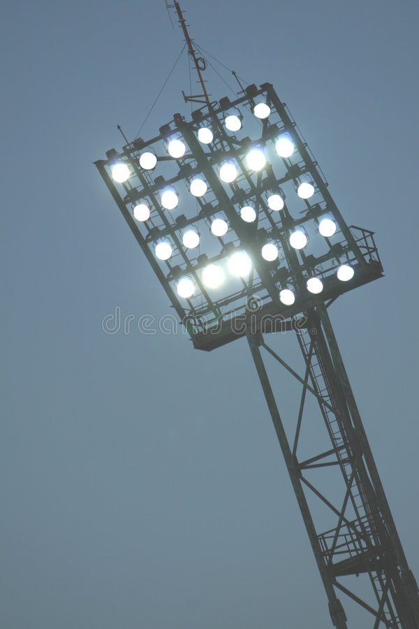 Floodlights royalty free stock image
