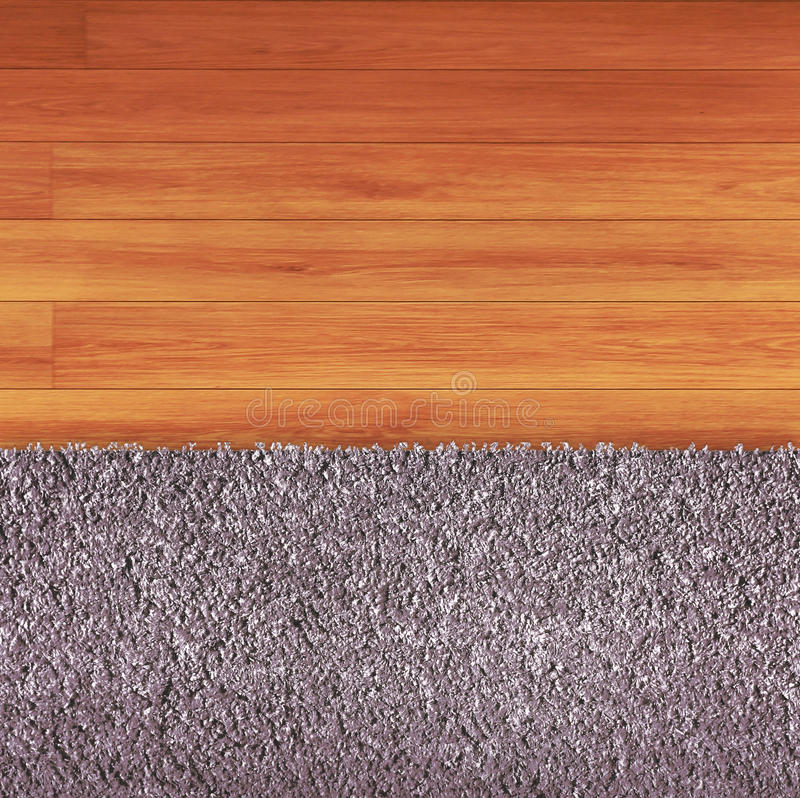 Floor adn carpet royalty free stock images