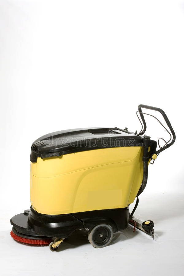 Floor Cleaning machine stock image