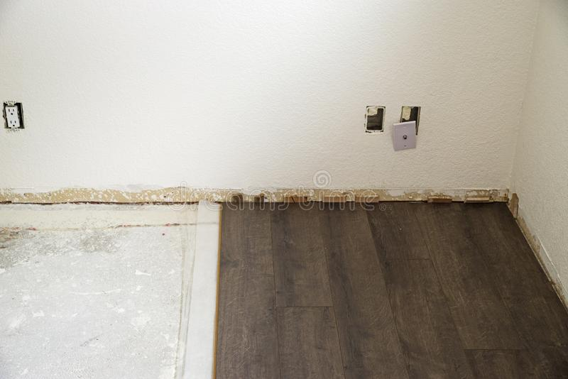 Floor Installation royalty free stock images
