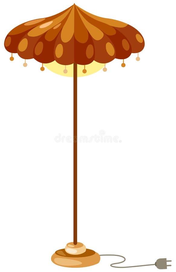 Download Floor lamp stock vector. Image of shade, desk, modern - 16549921