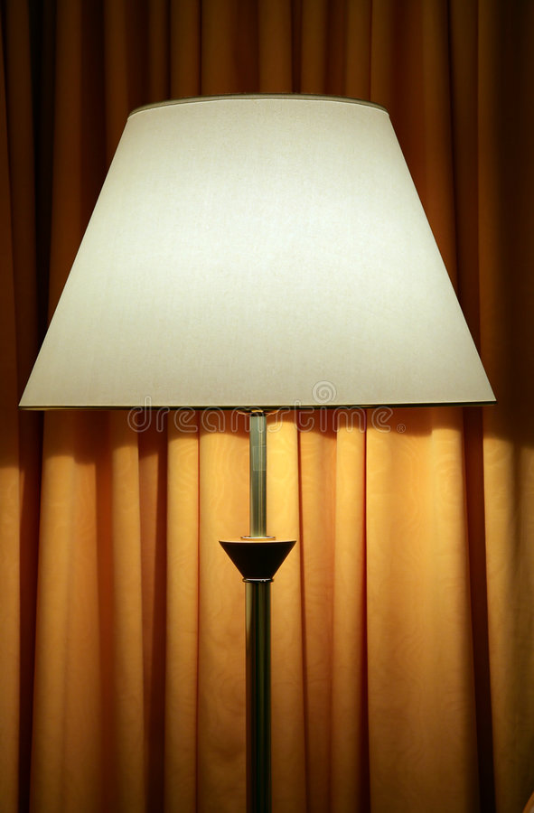 Download Floor lamp stock image. Image of room, hotel, residential - 4960139