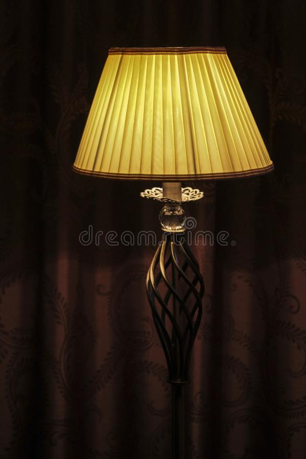 Floor lamp royalty free stock photography