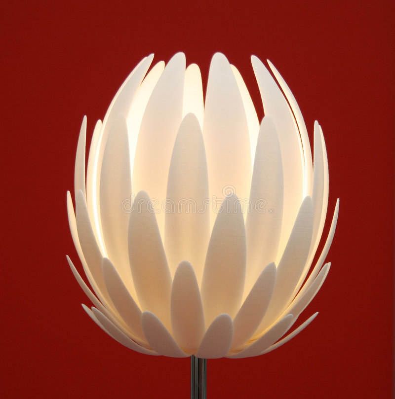 Floor lamp flower stock photos