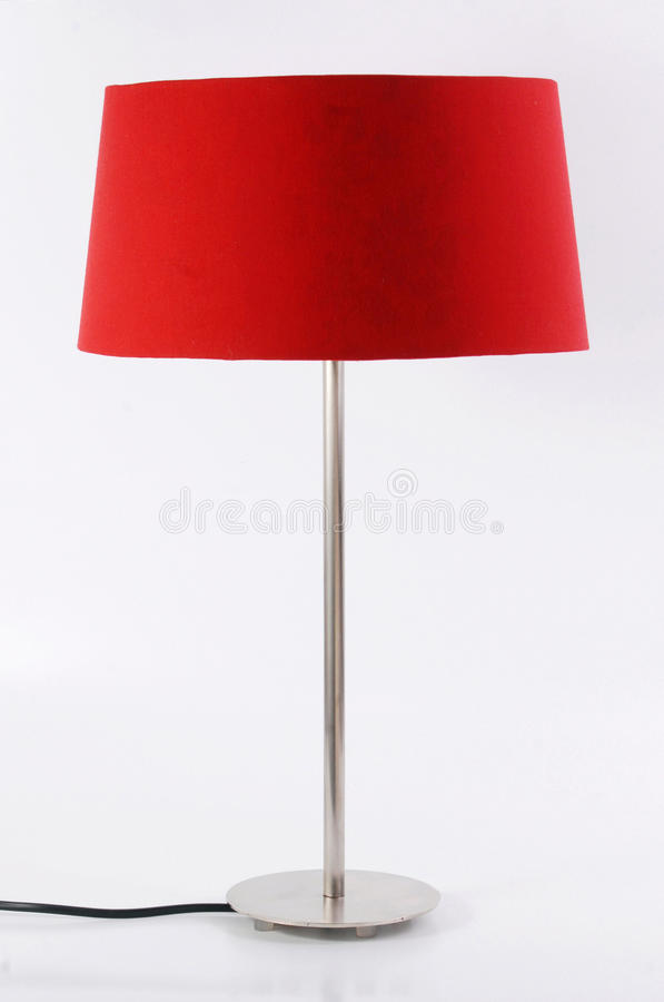 Floor lamp isolated on white background stock image