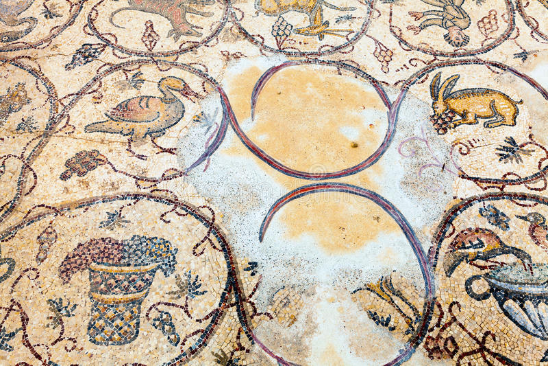 Download Floor mosaic stock image. Image of city, images, caesarea - 30642989