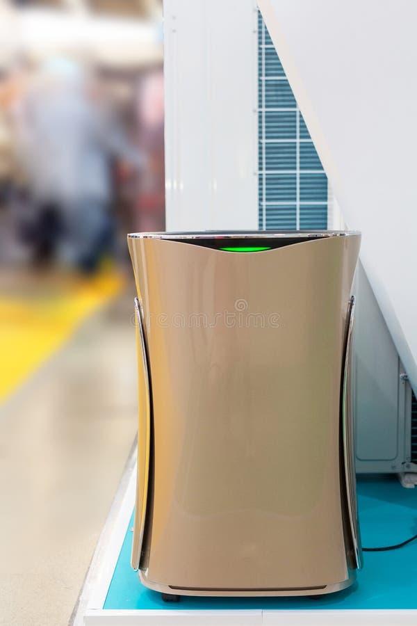 Floor mounted brown Air conditioner. Floor mounted brown Air conditioner royalty free stock photo