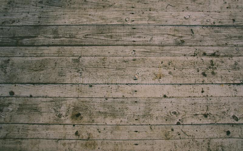 Floor pattern from old house. Wooden floor in an old house, very nice pattern stock image