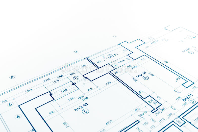 Download Floor Plan Blueprint, Blueprints Background, Architecture Drawin  Stock Photo   Image Of Architect