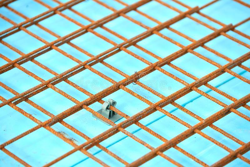 Floor Thermal Insulation And Wire Mesh Steel Rebars For Reinforced ...