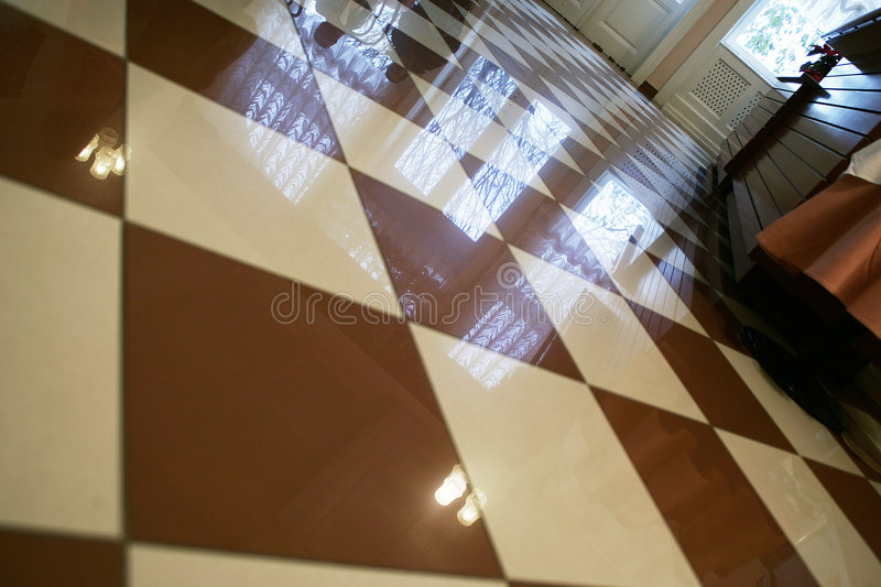Floor tiles royalty free stock photos