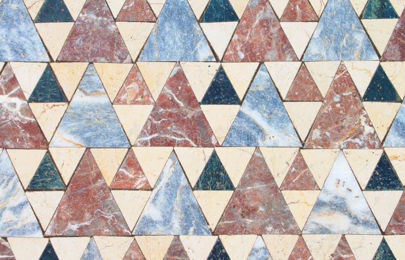 Floor tiles from the Church of John the Baptist, Turkey royalty free stock image