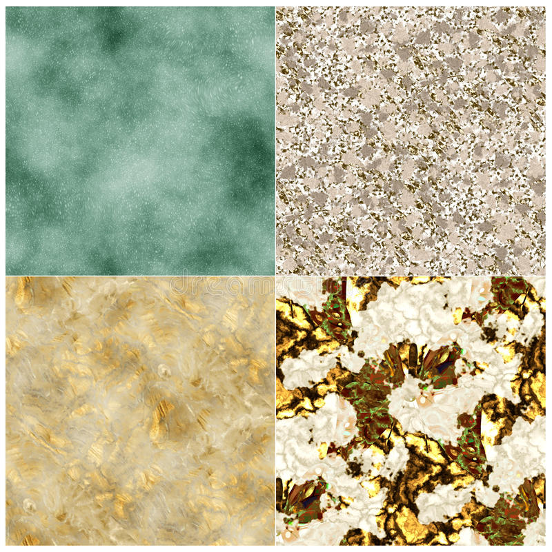Floor tiles of marble. Tile or marble images of the atmospheren stock illustration