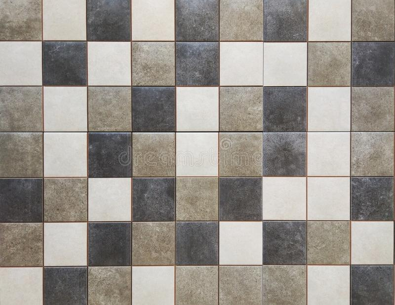 Floor tiles top view as background royalty free stock images