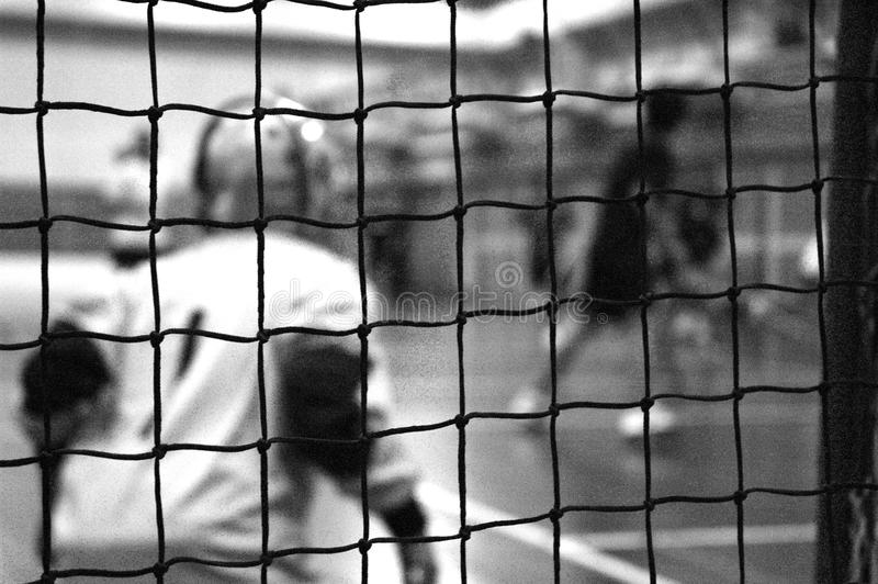 floorball目标老板培训 免版税库存图片