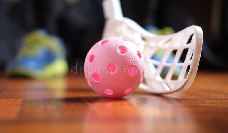 Floorball photo stock
