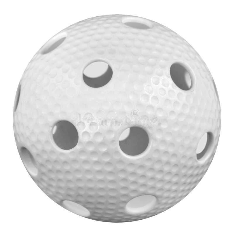 Floorball boll fotografering för bildbyråer