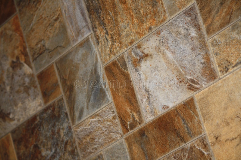 Flooring. Brown and beige coloured higher end flooring royalty free stock photography