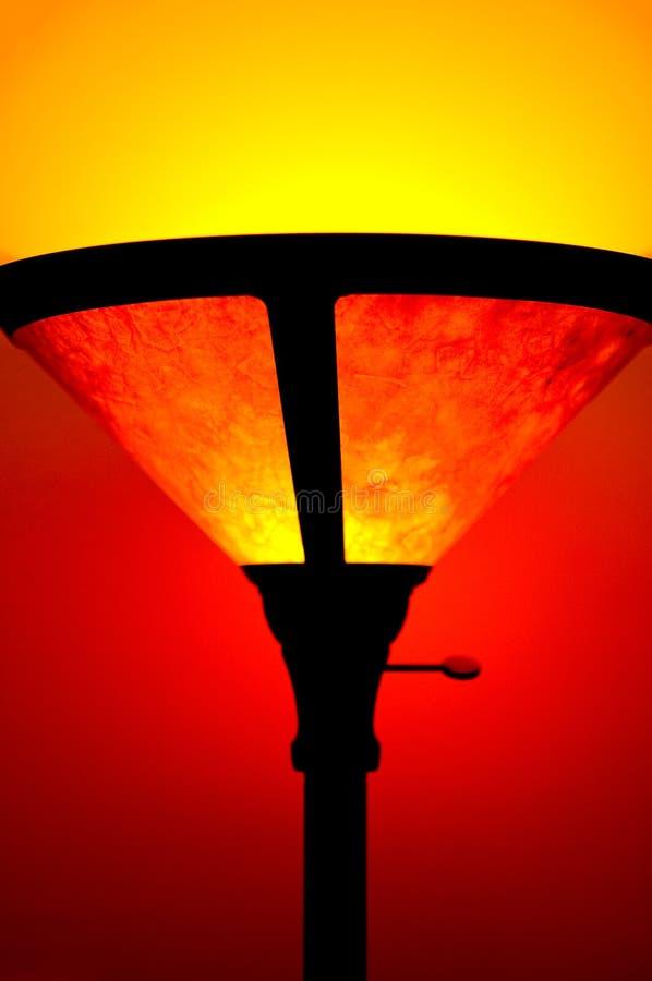 Floorlamp stock photography