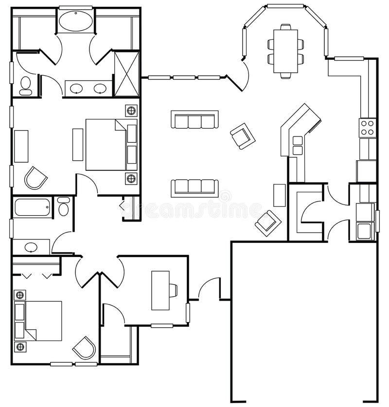 floorplan ilustracji