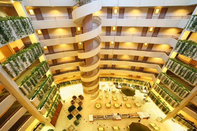 Download Floors And Staircase In Iris Congress Hotel Editorial Image - Image: 23996955