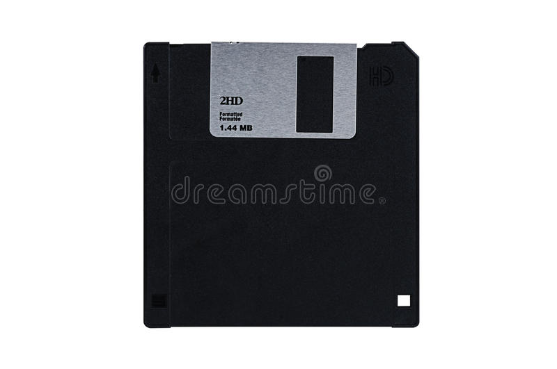 Floppy Diskette Isolated Royalty Free Stock Images