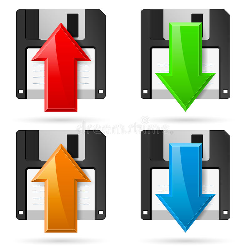 Download Floppy stock vector. Image of abstract, concept, modern - 32239368