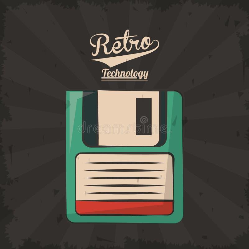 Free Floppy Retro Backup Plastic Technology Royalty Free Stock Image - 110220136