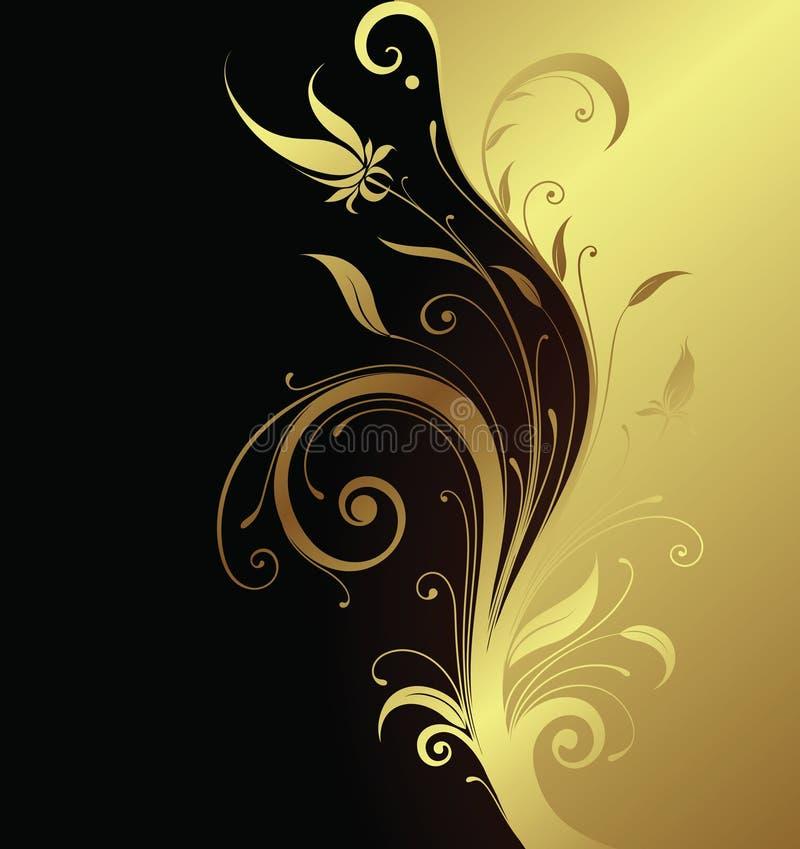 Flor 1-3 ilustração royalty free