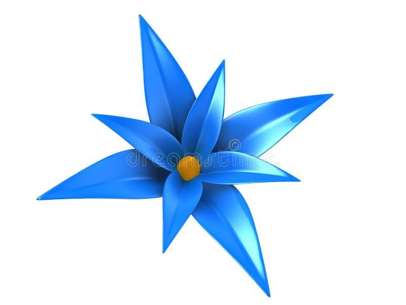 flor 3d stock de ilustración