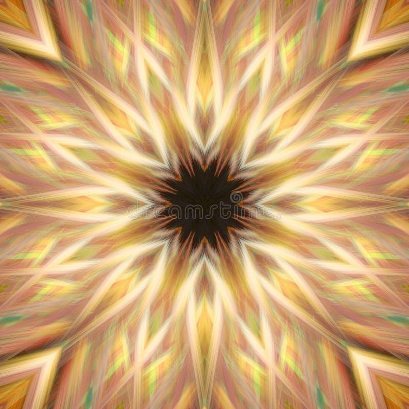 flor 3d ilustração royalty free