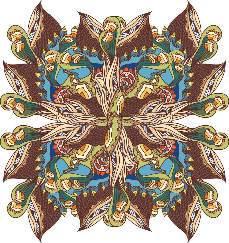 Download Flor ilustración del vector. Ilustración de ornamento - 41902833