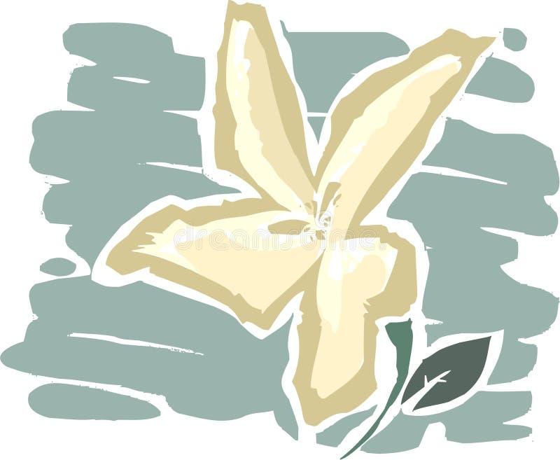 A flor ilustração royalty free