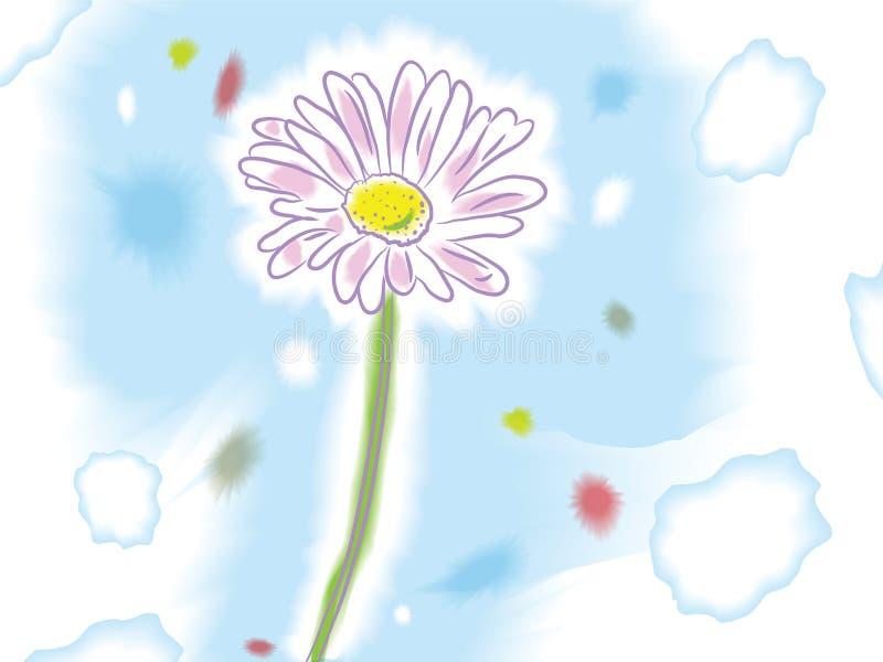 Flor ilustração do vetor