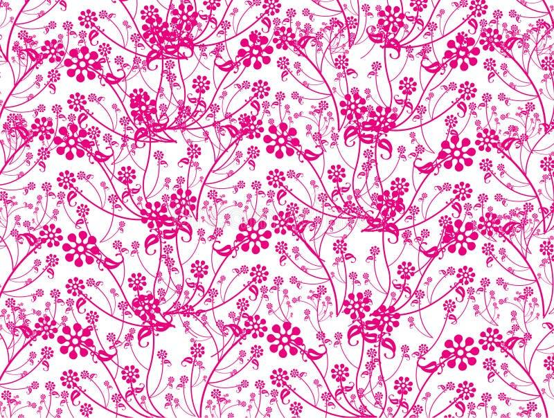 Flor abstracta 01 ilustración del vector