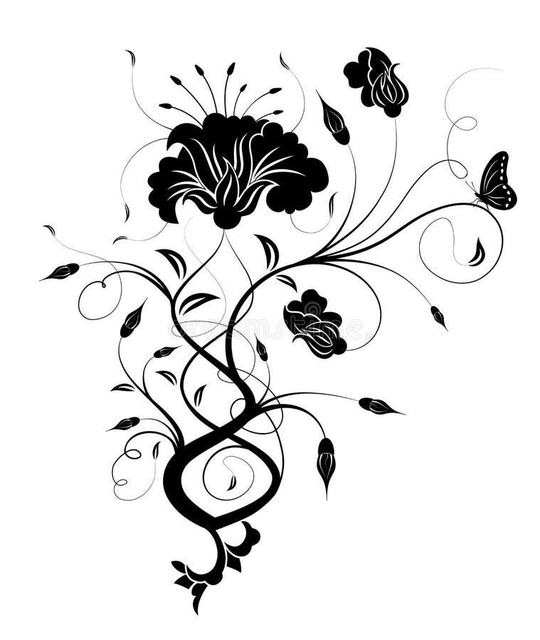 Flor abstracta libre illustration