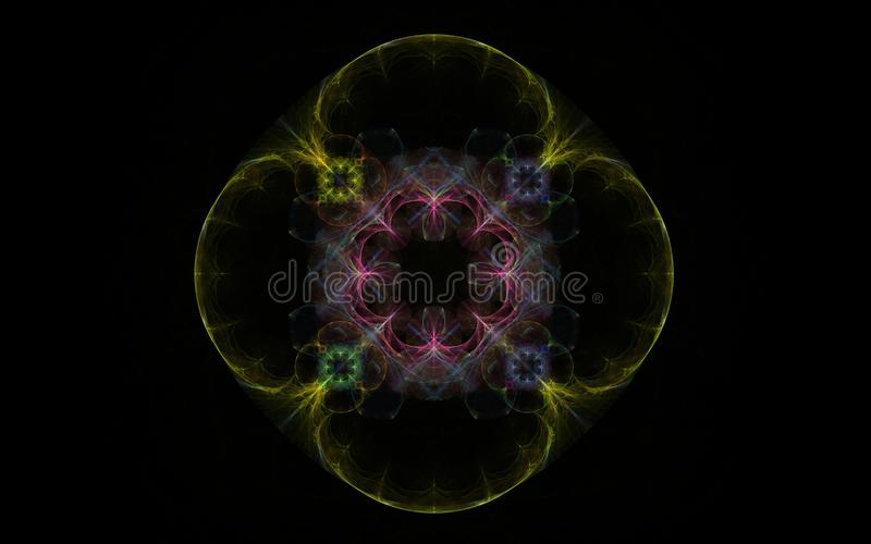 Flor abstracta del fractal libre illustration