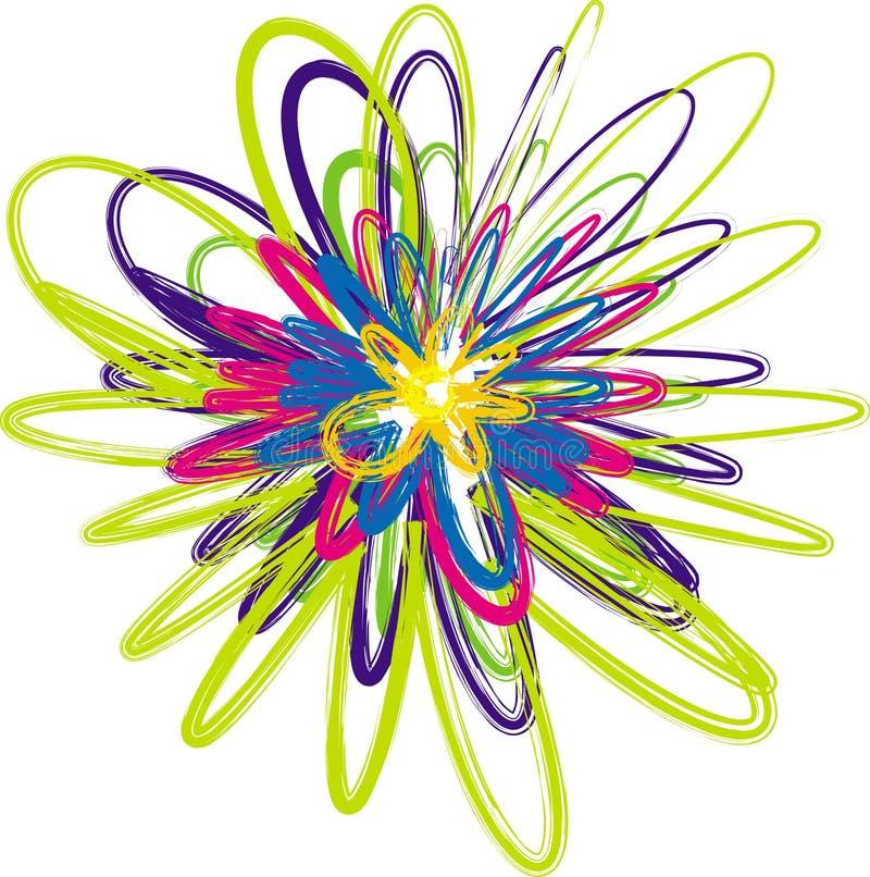 Flor abstrata fotos de stock royalty free