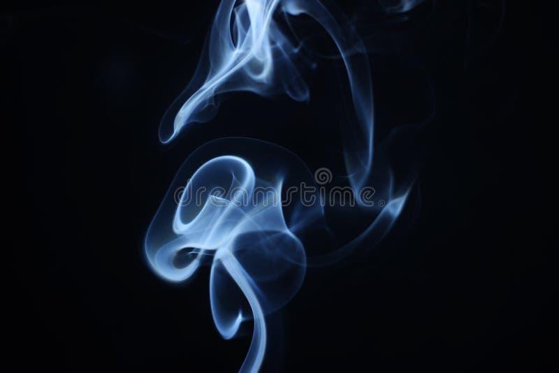 Flor abstrata do fumo foto de stock royalty free