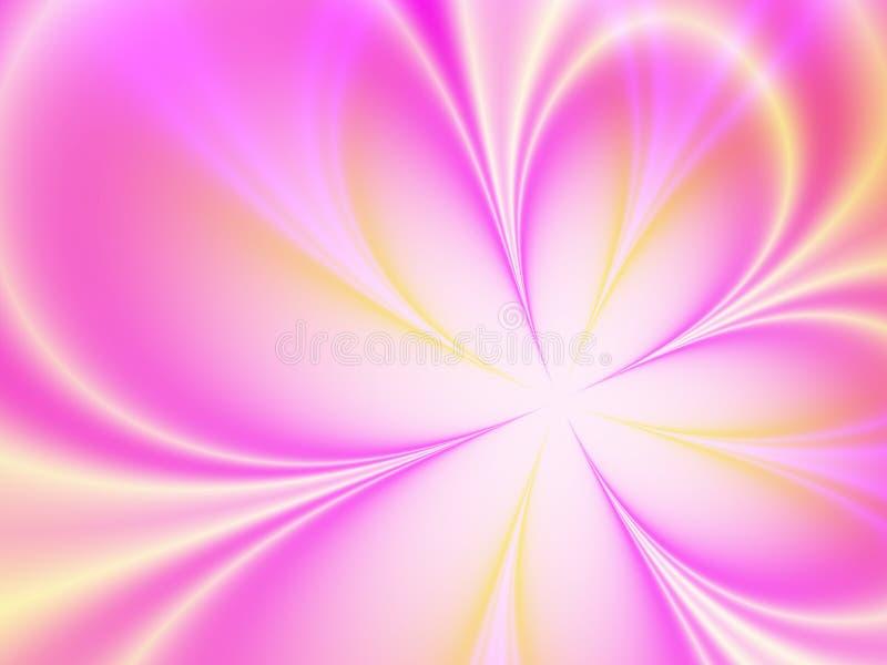 Flor agradável ilustração do vetor