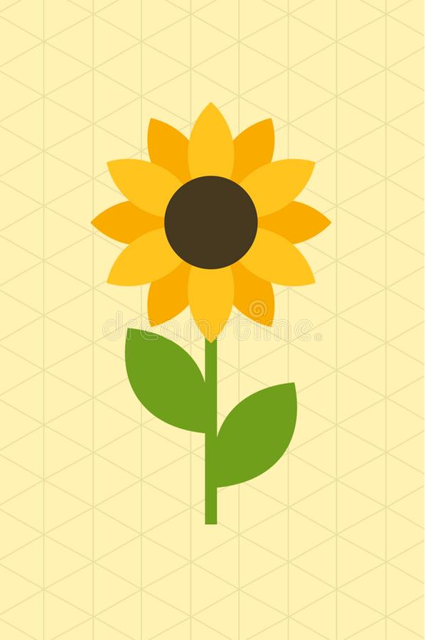 Flor amarilla fotografía de archivo