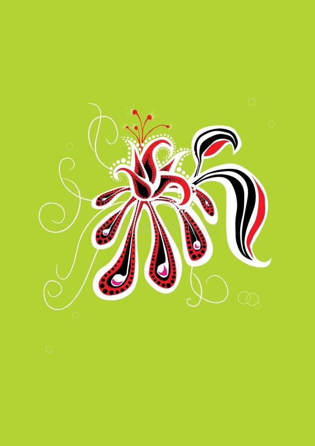 Flor bonita ilustração do vetor