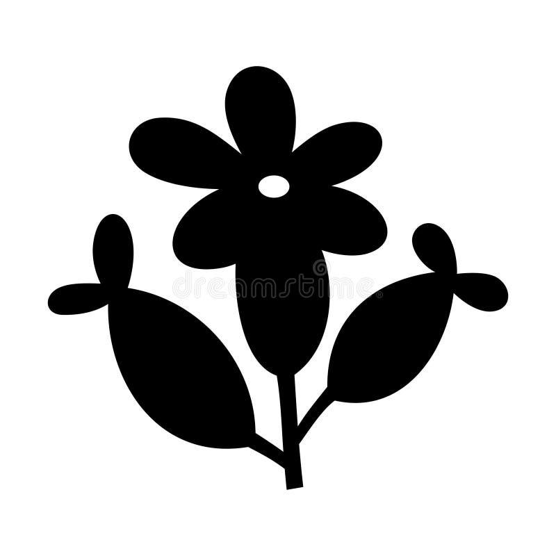 Flor da alfazema ilustração royalty free