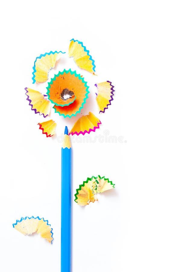 Flor da arte fotografia de stock