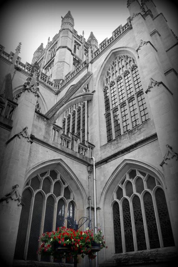 Flor da catedral do banho fotos de stock royalty free
