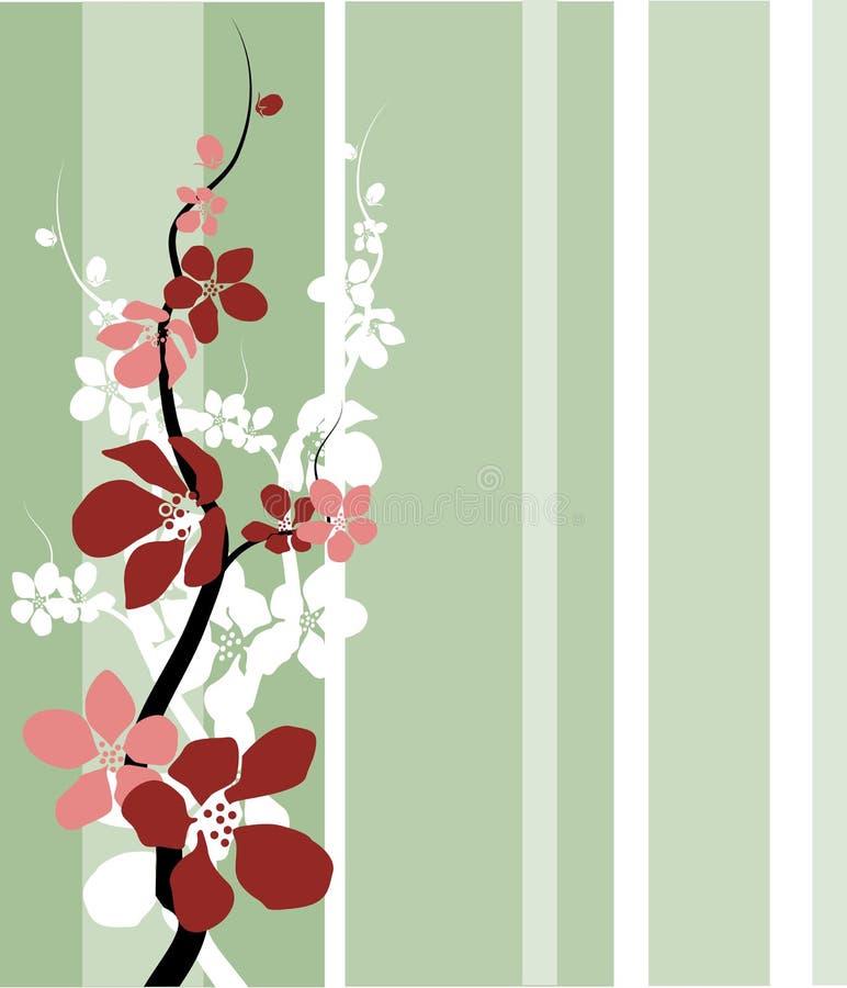 Flor da cereja/maçã ilustração stock