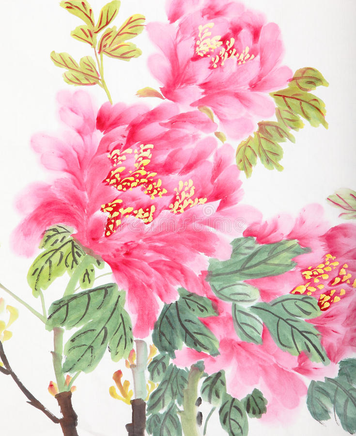 Flor da peônia