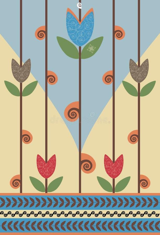 Flor de caracol ilustração royalty free